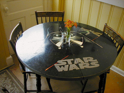 Darth Vader Table