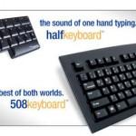 Half Keybaord with 508