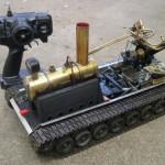 RC steamtank main