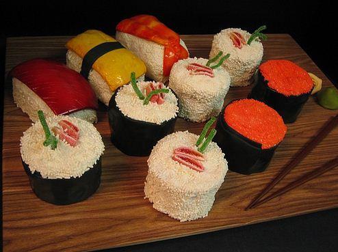 Sushi Cake Platter (4)