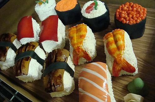 Sushi Cake Platter (2)