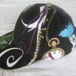 alice in wonderland hat side