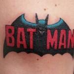 comic book tattoo batman1