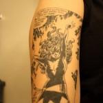comic book tattoo dark phoenix1