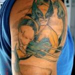 comic book tattoo wolverine tarzia