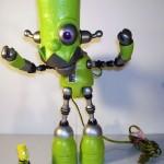 cool bart simpson robot design
