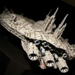 cool star wars lego droid ship
