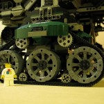 cool steampunk lego city on wheels