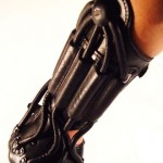 super cyber leather arm bracer