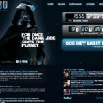 earth hour darth vader ad