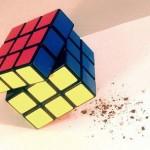 gadget rubik's cube salt and pepper grinder