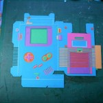 game boy color papercraft images