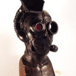 gbt steampunk leather mask