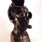 gbt steampunk leather mask