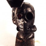 gbt steampunk leather mask frontal