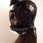 gbt steampunk leather mask side