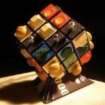 handicap visually impaired rubik's cube