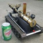 home RC steamtank