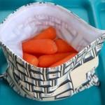 keyboard snack pouch