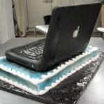 laptop cake back view