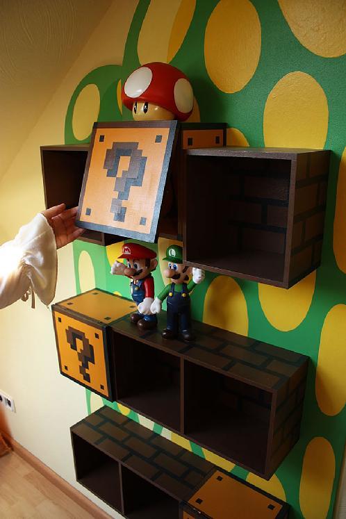 Super Mario Bros Furniture Is The Wildest Concept