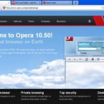 opera welcome page