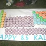 periodic table eatables birthday cake