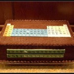periodic table eatables chocolate cake