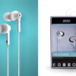 running earphone athlete muse audio
