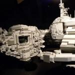 star wars lego art droid ship