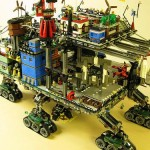 steampunk art city lego