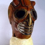 steampunk lord mask front