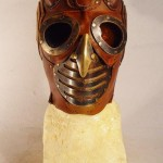 steampunk lord mask frontal