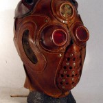 steampunk lord red mask