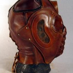 steampunk lord red mask side