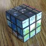 super mario rubik's cube design