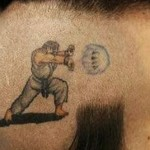 video game tattoo street fighter