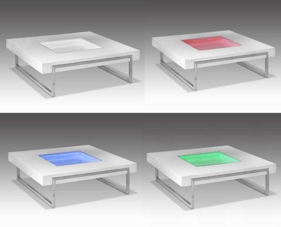 1 led table