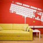 2 computer-keyboard-wall-graphics
