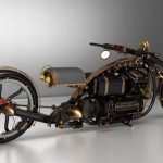 Black Widow Steampunk Chopper (2)