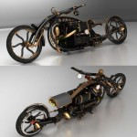 Black Widow Steampunk Chopper (4)