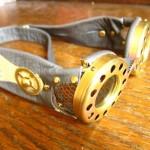 Kraken Steampunk 3D goggles