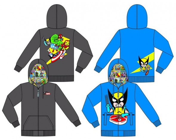 Marvel and Tokidoki Team Brings you Hoodies (2)