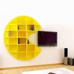 Pacman 1 bookcase
