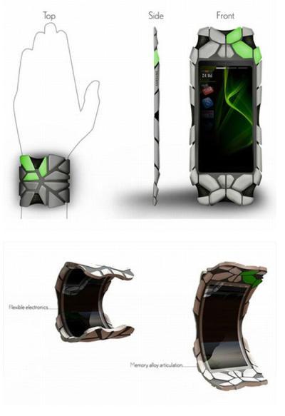 Samsung Concept OLED Wrist Communicator