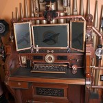 Steampunk Victorian Organ Computer
