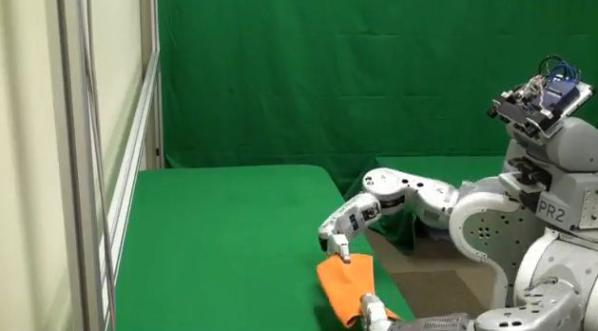 Towel Folding Robot (2)