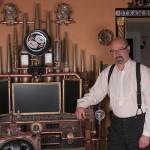 Victorian Organ Command Desk