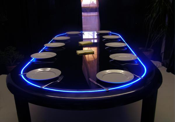 gaming poker dining table