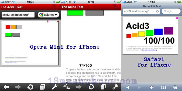 iphone browser test